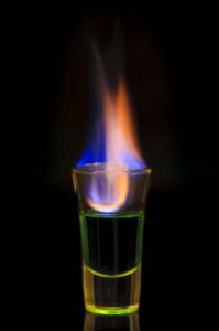 Absinth, trinken ,Böhmisches, Absinth, Ritual