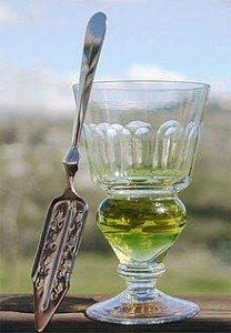 Absinthe-glass